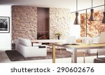 Interior Design   3d Render O...