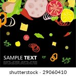 menu cover template | Shutterstock .eps vector #29060410