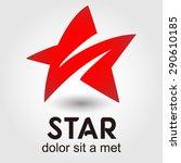 star logo element innovative... | Shutterstock .eps vector #290610185