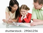image of father  mother and... | Shutterstock . vector #29061256