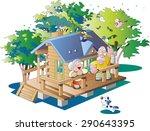 villa | Shutterstock .eps vector #290643395