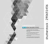 abstract template background... | Shutterstock .eps vector #290651456