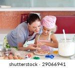 potrait of money and daugether... | Shutterstock . vector #29066941