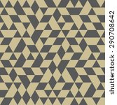 geometric vector texture with... | Shutterstock .eps vector #290708642