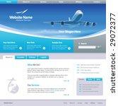 web site design template 6 ... | Shutterstock .eps vector #29072377