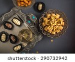eid celebration food and... | Shutterstock . vector #290732942