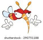 cartoon illustration of a red... | Shutterstock . vector #290751188