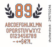 Vintage Handmade Alphabet  Abc...