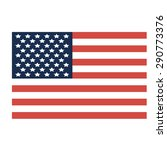 american flag.  happy... | Shutterstock .eps vector #290773376