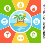 rules of conduct in summer... | Shutterstock . vector #290783216