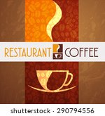 logo coffee menu restaurant... | Shutterstock .eps vector #290794556