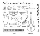 Salsa Musical Instruments...
