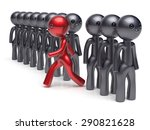 different people character... | Shutterstock . vector #290821628