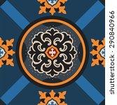 classic retro pattern | Shutterstock .eps vector #290840966