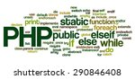 conceptual tag cloud containing ... | Shutterstock .eps vector #290846408