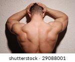 bodybuilder in a studio | Shutterstock . vector #29088001