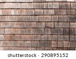 Old Wooden Weathered Cedar...