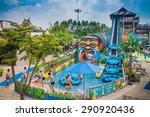guangzhou  china   aug 30 ... | Shutterstock . vector #290920436