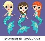 Pretty Mermaids  Underwater...