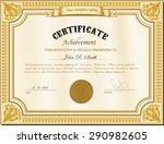vector illustration of gold... | Shutterstock .eps vector #290982605