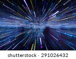 lights trail using zoom... | Shutterstock . vector #291026432
