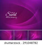 swirl abstract background | Shutterstock .eps vector #291048782