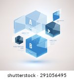 business design can be used for ... | Shutterstock .eps vector #291056495