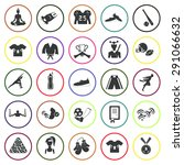 set of twenty five sport icon | Shutterstock .eps vector #291066632