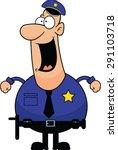cartoon illustration of a... | Shutterstock .eps vector #291103718