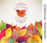 Autumn Background. Vector...