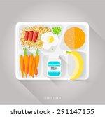 vector illustration. flat style.... | Shutterstock .eps vector #291147155