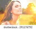 women  healthy lifestyle  sun. | Shutterstock . vector #291176792