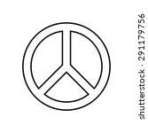 peace symbol | Shutterstock .eps vector #291179756