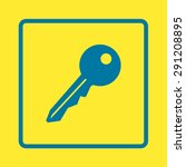 key icon. lock symbol. security ...