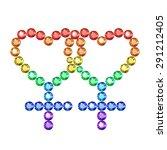 vector illustration  symbol of... | Shutterstock .eps vector #291212405