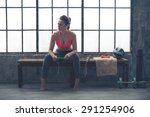 looking off to the side  an... | Shutterstock . vector #291254906
