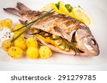 Grilled Carp Fish With Rosemary ...