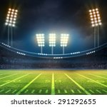 light of stadium | Shutterstock . vector #291292655