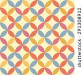 seamless vintage pattern.... | Shutterstock . vector #291308912