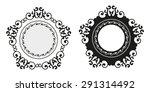 vintage calligraphy decorative... | Shutterstock .eps vector #291314492