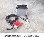 repair of car batteries with... | Shutterstock . vector #291350162