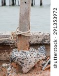 knot ropes around the old... | Shutterstock . vector #291353972