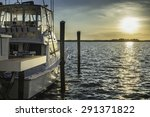 fishing boat yacht ready to go... | Shutterstock . vector #291371822