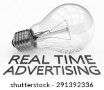 real time advertising  ... | Shutterstock . vector #291392336