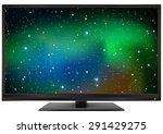 photo realistic led monitor... | Shutterstock .eps vector #291429275