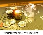global economy concept funding | Shutterstock . vector #291453425