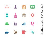 company icons universal set for ... | Shutterstock .eps vector #291465476