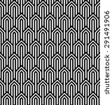 vector modern tiles pattern.... | Shutterstock .eps vector #291491906