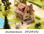 Village Miniature With House...