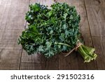 Bunch Of Organic Kale On A...